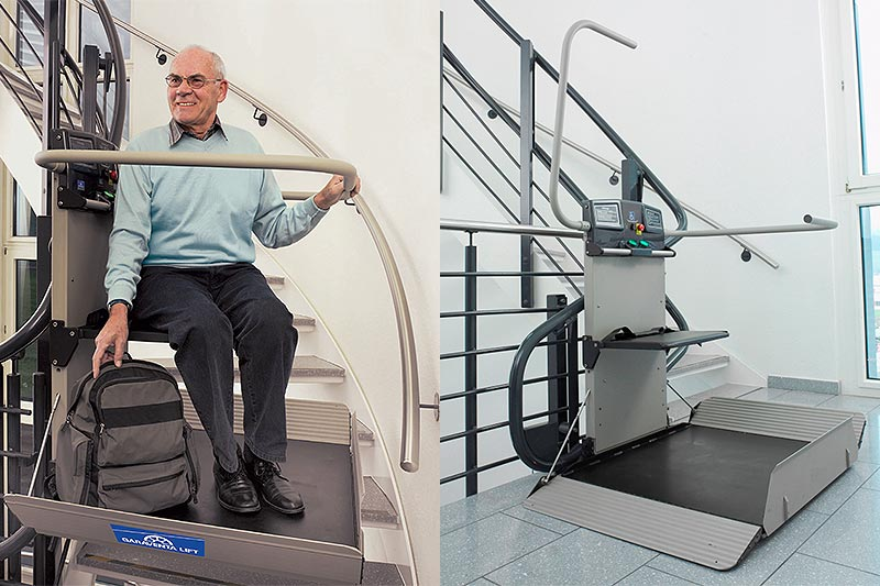Servoscale e montascale per anziani e disabili genova e for Garaventa lift